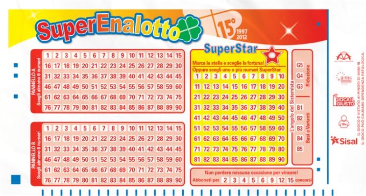 правила игры лотерея супереналотто